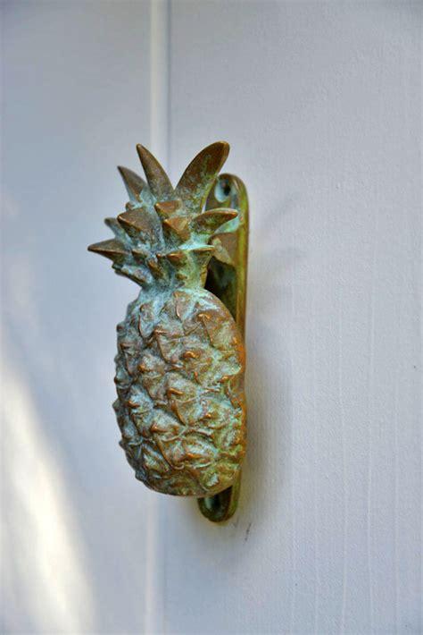 pineapple door knocker pineapple door knocker the city farm