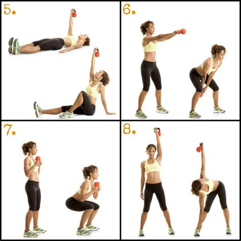 kettlebell swings workout bump run chat 8 move kettlebell workout