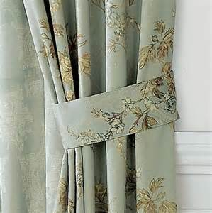 antoinette thermal tie backs jcpenney home decor