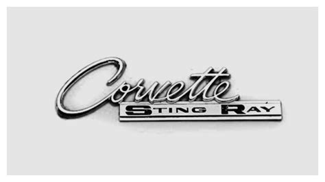 vintage corvette logo corvette emblem 1963 classic inspiration pinterest