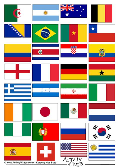 flags of the world printouts world cup 2014 flags yes i am a fan of soccer and am