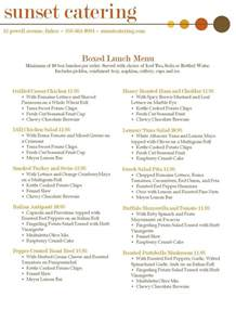 breakfast lunch and dinner menu template 25 best catering menu ideas on catering