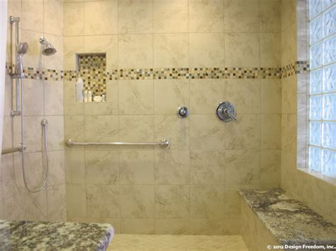 Step Shower by Master Bathroom With No Step Shower Modern Bathroom