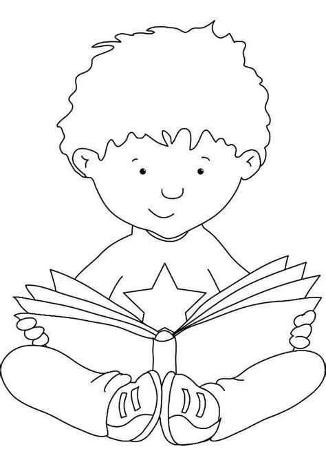 imagenes para colorear y aprender a leer dibujo para colorear leer img 7308