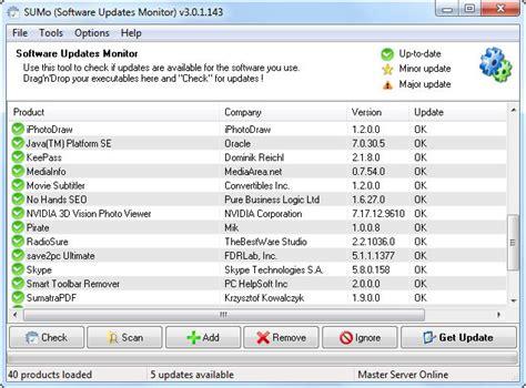 Monitor Update sumo software update monitor 3 0 1 143 malwaretips