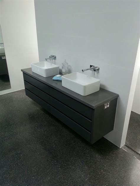 concrete bathroom vanity top 1000 images about polished concrete bathroom vanities on