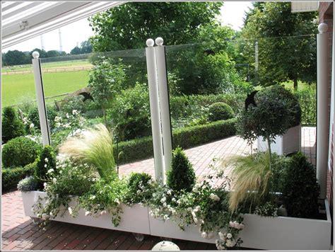 Terrasse Windschutz Glas by Windschutz Terrasse Glas Edelstahl Terrasse House Und