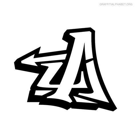 graffiti letters a z graffiti alphabet letter a graffiti art collection 1263
