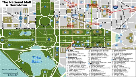 layout of the mall in washington dc file national mall map png wikimedia commons