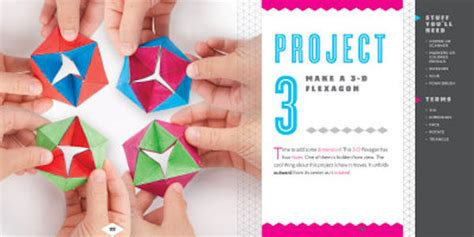 Paper Folding Activities In Mathematics - nonfiction books cool paper folding creative