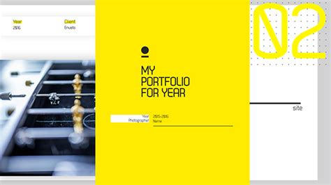 template after effects portfolio dotted yellow portfolio after effects template