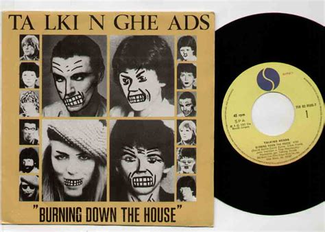 Talking Heads Burning Down The House Records Vinyl And Cds Hard To Find And Out Of Print