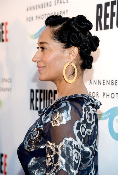 Tracee Ellis Ross Hairstyles by Tracee Ellis Ross Hair Knots Hair Lookbook Stylebistro