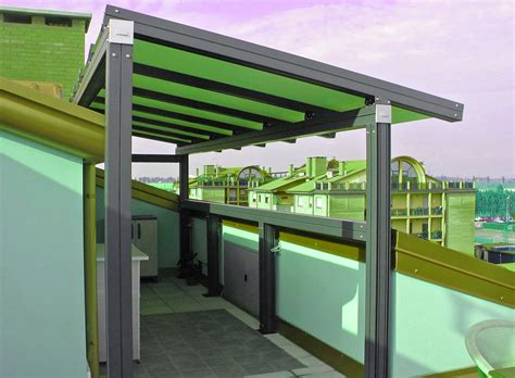 tettoie in alluminio tettoie in alluminio per terrazzi prezzi