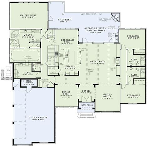 house plans with great kitchens awesome floor plan with master walk in closet and