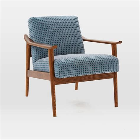 Westelm Chairs by Mid Century Show Wood Upholstered Chair West Elm