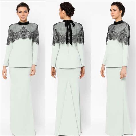 design dress kembang rizman ruzaini raya 2017 muslimah fashion on carousell