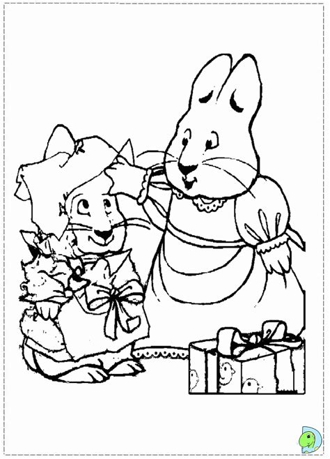 max and ruby coloring pages nick jr max and ruby coloring page az coloring pages