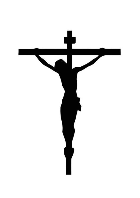 coloring page image on the cross img 10998