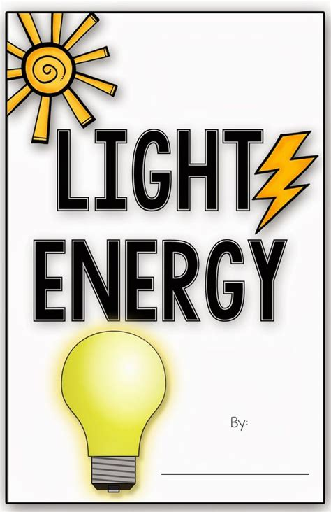 what type of energy is light simply skilled in second light energy mini book freebie