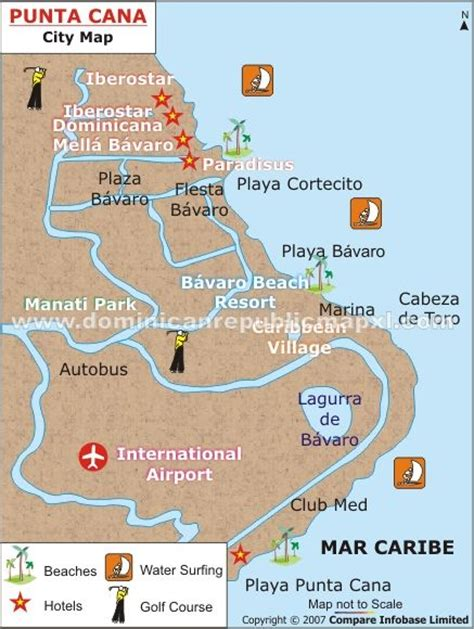 map of punta cana punta cana map s wedding