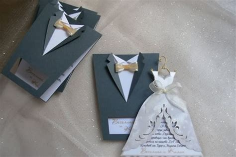 Handmade Invitation Ideas - creative wedding card design creative wedding invitation