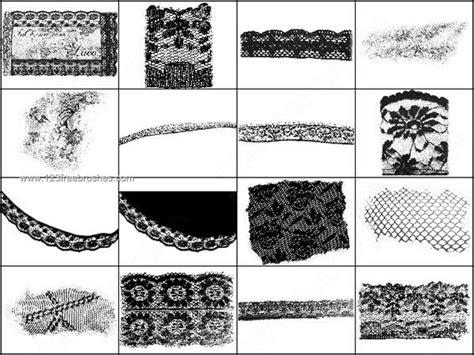 pattern brush photoshop cs2 lace brushes photoshop cs2 123freebrushes