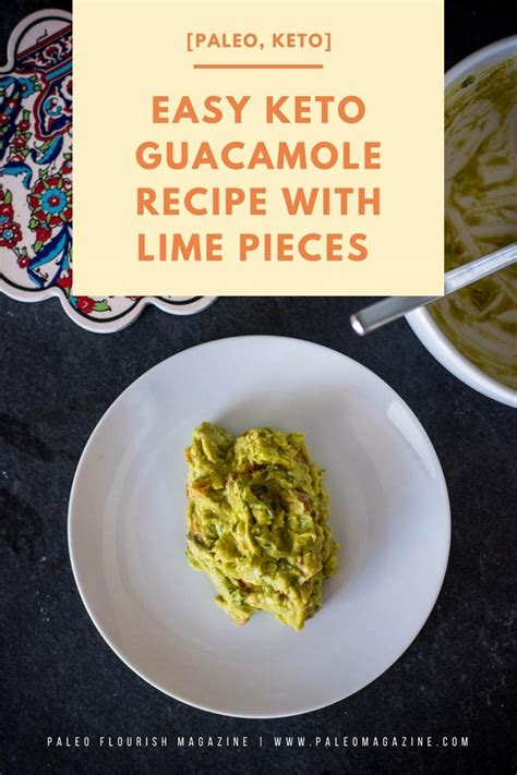 the keto paleo kitchen the easy way to shift your diet ratios for term weight loss books easy keto guacamole recipe with lime pieces paleo keto