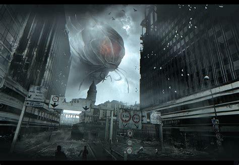 Cloverfield Invades by Nicolas Ferrand Splinter Cell 4 Assassins Creed Thief 4