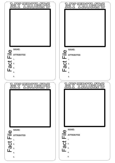 template for 5 1 8 x 3 3 4 card top template 1006 top trumps school