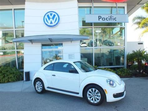 buy used 2014 volkswagen new beetle 2 5l factory warranty