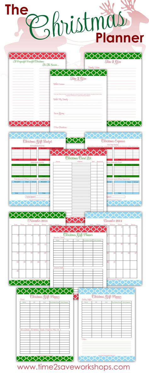 printable holiday planner printable christmas planner a purposeful peaceful