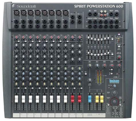 table de mixage lifier powerstation600 soundcraft chez evas sono