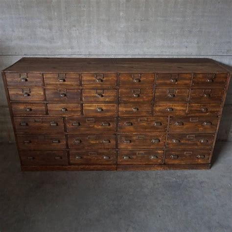 Apothecary Furniture by Vintage Large Pine Apothecary Cabinet 1930s At 1stdibs