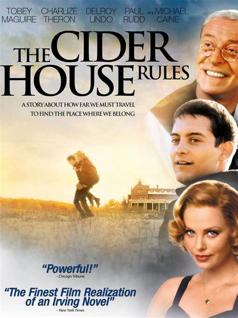 cider house rules trailer the cider house rules movie trailer reviews and more tv guide
