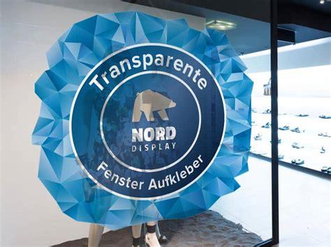 Fensteraufkleber Transparent transparente fensteraufkleber f 252 r innen und au 223 en nord