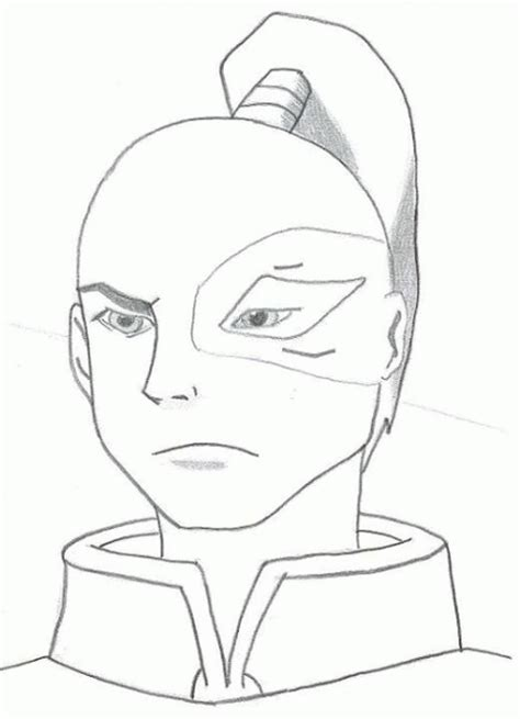Coloring Page Avatar Coloring Pages 0 Avatar Azula Coloring Pages
