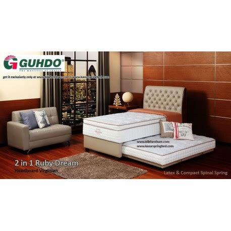 Bed Guhdo No 2 springbed guhdo 2in1 ruby virginian