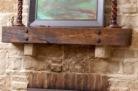 Fireplace Mantel Supports Diy Ideas To Give Your Brick Fireplace A Modern Update