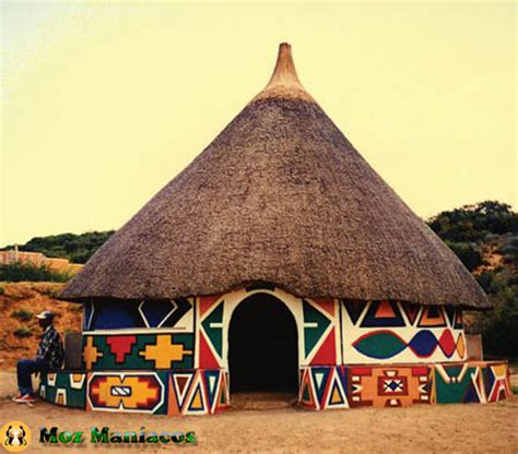 xhosa hutte arte e arquitectura africana do povo ndebele