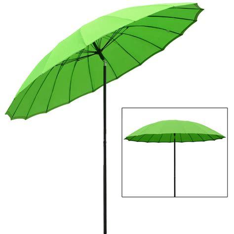 Sun Garden Umbrella by Azuma 2 5m Tilting Parasol Sun Shade Canopy Umbrella