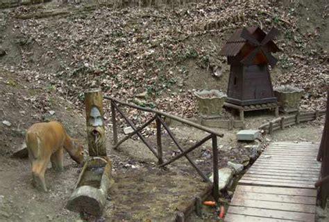 percorso gnomi bagno di romagna sentiero degli gnomi