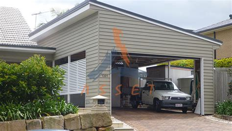 Spanline Sheds by Skillion Roof House Designs