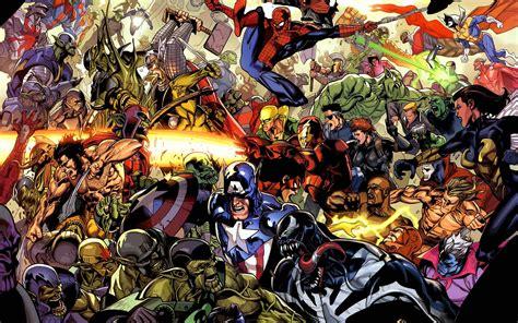 dc comics vs marvel superheroes wallpaper comic wallpapers wallpaper cave