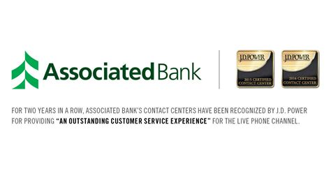 asociated bank associated bank s contact centers certified again by j d