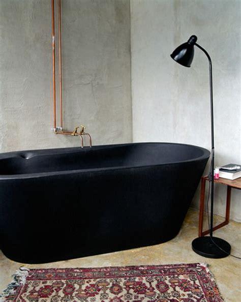 vasca da bagno nera le 20 migliori idee su arredo per il bagno nero su