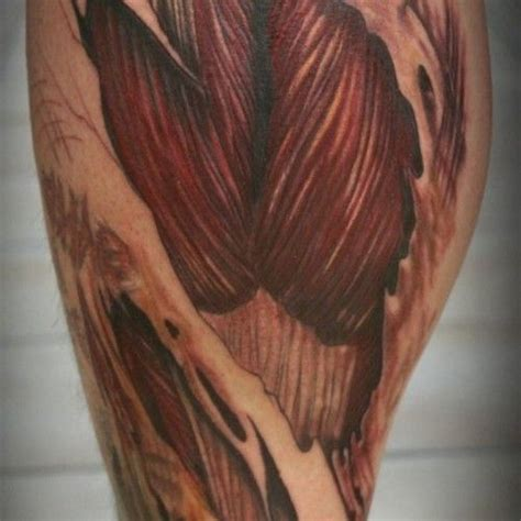 calf muscle tattoo designs 25 best ideas about on