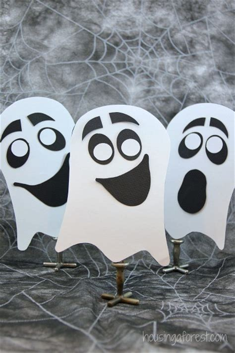 Halloween Ghost Crafts For Kids - easy ghost craft for kids housing a forest