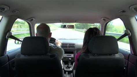 how to shoo car interior at home rear view from inside car person driving 4k inside the