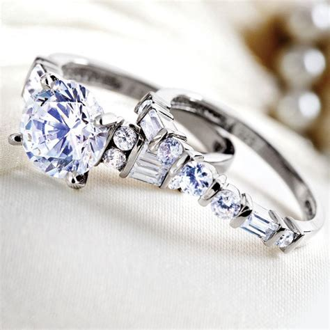 amorosa ring set w5929 stauer